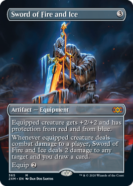 Sword of Fire and Ice - Borderless