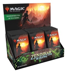 Zendikar Rising Set Booster Pack Display (30 Packs) +  2 Zendikar Rising foil promo pak
