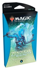 Magic the Gathering MtG Zendikar Rising Theme Booster - Blue
