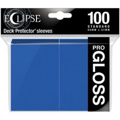 Ultra Pro - Standard Deck Protectors: Eclipse Pro-Gloss Pacific Blue 100 ct