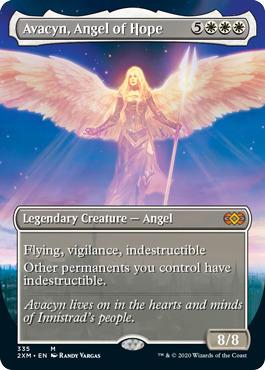 Avacyn, Angel of Hope - Foil - Borderless