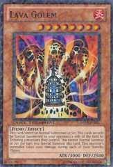 Lava Golem - DT03-EN006 - Duel Terminal Super Parallel Rare - 1st Edition on Channel Fireball