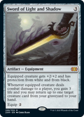 Sword of Light and Shadow - Foil
