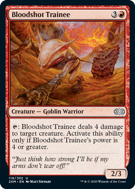 Bloodshot Trainee - Foil