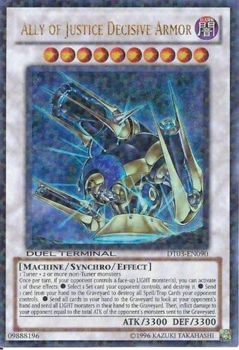 Ally of Justice Decisive Armor - DT03-EN090 - Ultra Parallel Rare - Duel Terminal