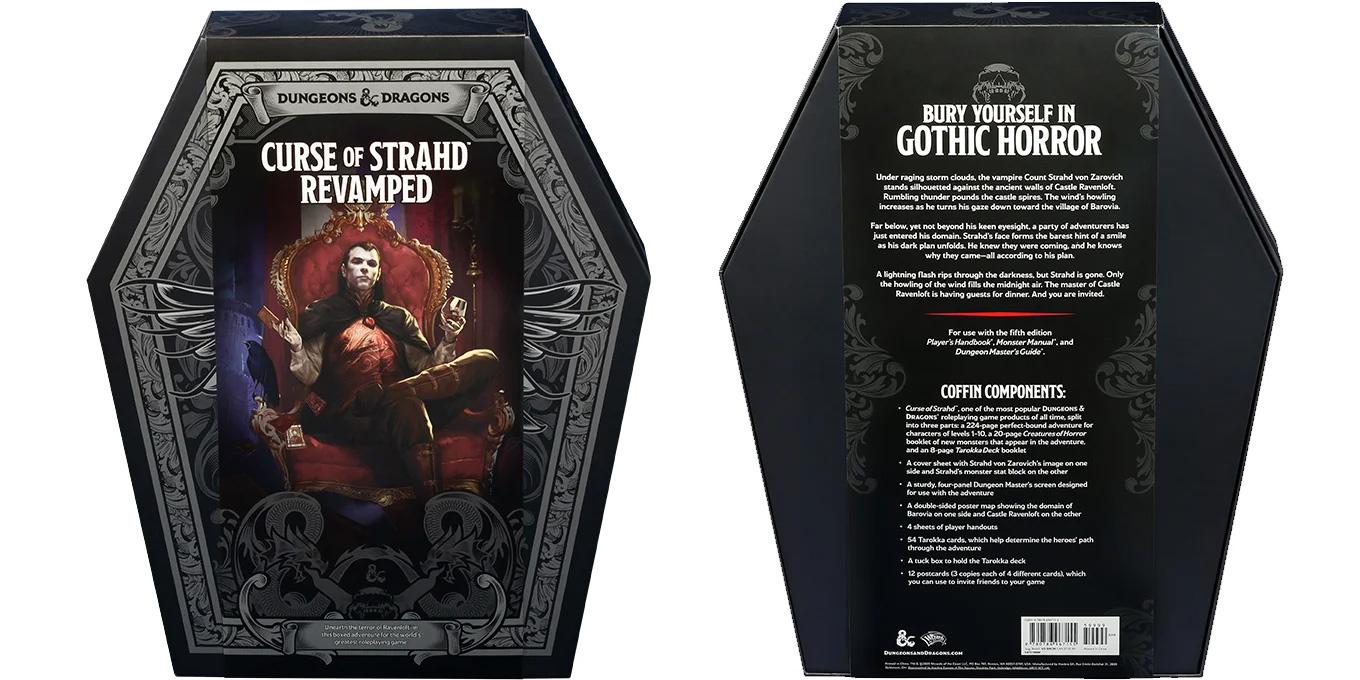 Dungeons & Dragons Curse of Strahd: Revamped Premium Box Set