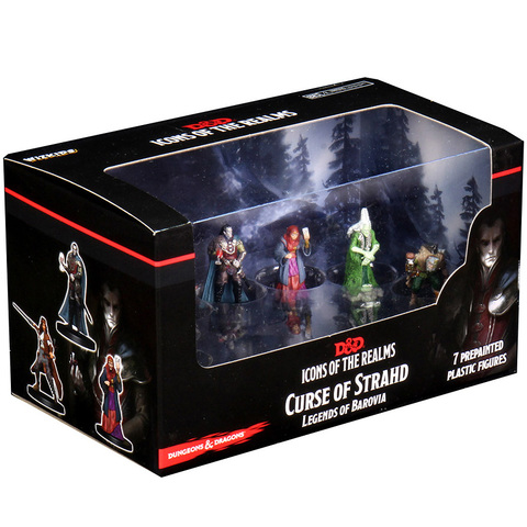 Dungeons And Dragons Icons of the Realms: Curse of Strahd — Legends of Barovia Premium Box Set