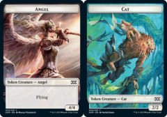 Angel Token // Cat Token - Foil