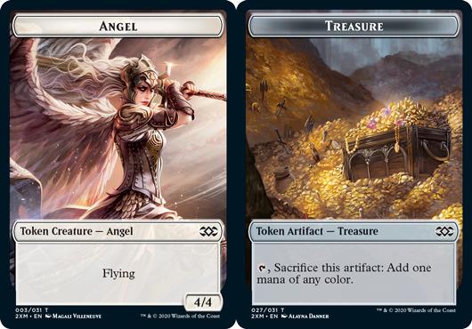 Angel Token // Treasure Token - Foil