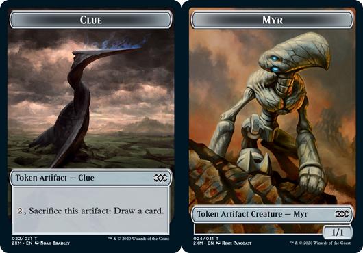 Clue Token // Myr Token (024) - Foil