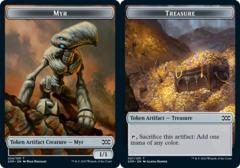 Myr Token (024) // Treasure Token - Foil