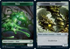 Ooze Token // Wurm Token (029) - Foil
