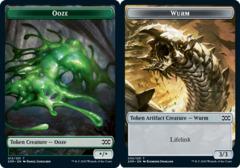 Ooze Token // Wurm Token (030) - Foil