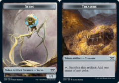 Servo Token // Treasure Token - Foil