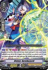 Diviner, Kuroikazuchi - V-BT08/018EN - RR