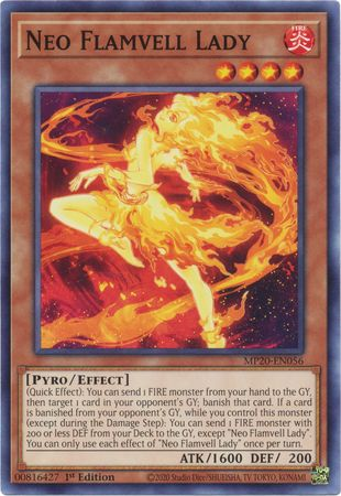 Neo Flamvell Lady - MP20-EN056 - Common - 1st Edition