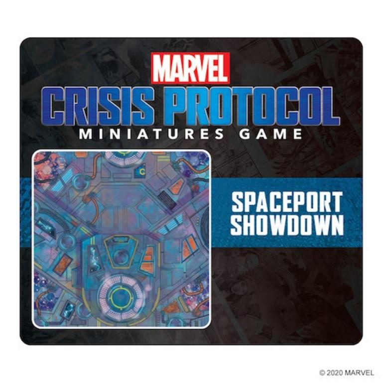 Marvel - Crisis Protocol: Spaceport Showdown Game Mat