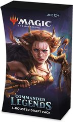At Home Pre Release Commander Legends 3 Booster Draft Pack
