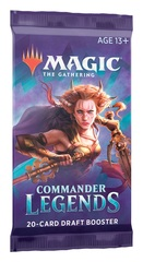 Commander Legends Booster Pack (No Store Credit, No Pay in Store)