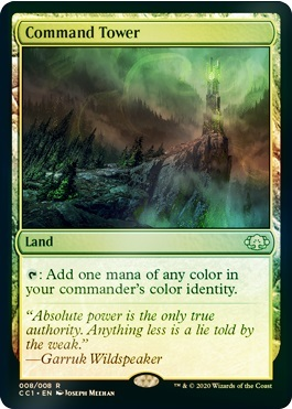 Command Tower - Foil