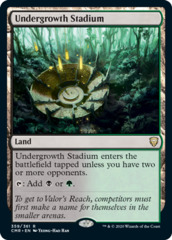 Undergrowth Stadium - Foil