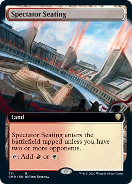 Spectator Seating - Foil - Extended Art