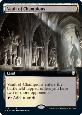 Vault of Champions - Foil - Extended Art