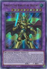 Timaeus the Knight of Destiny - DLCS-EN054 - Ultra Rare - 1st Edition