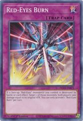 Red-Eyes Burn - DLCS-EN072 - Common - 1st Edition
