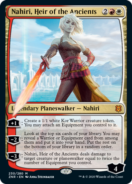 Nahiri, Heir to the Ancients