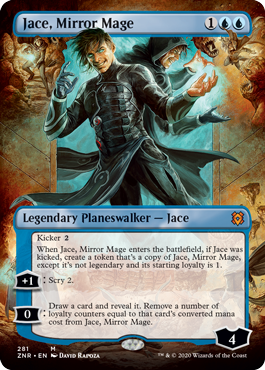 Jace, Mirror Mage - Foil - Borderless
