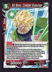 SS Broly, Combat Evolution - BT11-015 - R - Foil