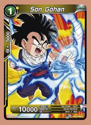 Son Gohan Bt11 096 C Dragon Ball Super Singles Vermilion Bloodline Coretcg Fight during the saga, just kept cutting to stuff i didn't want to see you know what i mean? son gohan bt11 096 c