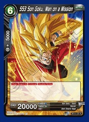SS3 Son Goku, Man on a Mission - BT11-127 - R - Foil