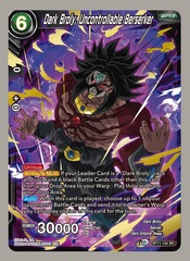 Dark Broly, Uncontrollable Berserker - BT11-134 - SR