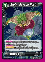 Broly, Savage Rush - BT11-147 - UC