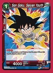 Son Goku, Saiyan Youth - BT11-008 - UC