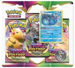 Sword & Shield - Vivid Voltage 3 Pack Blister - Vaporeon