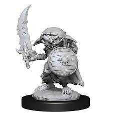 Pathfinder Deep Cuts: Goblin Fighter Male