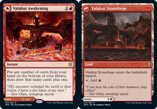 Valakut Awakening // Valakut Stoneforge - Foil