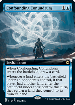 Confounding Conundrum - Foil - Extended Art