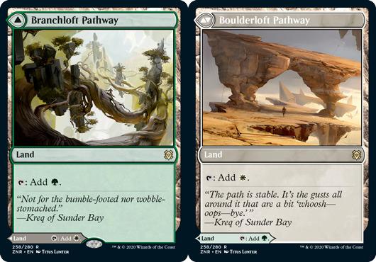 Branchloft Pathway // Boulderloft Pathway