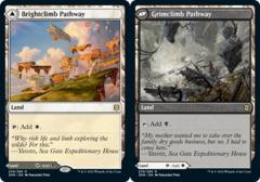 Brightclimb Pathway // Grimclimb Pathway - Foil (ZNR)