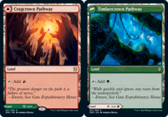 Cragcrown Pathway // Timbercrown Pathway - Foil