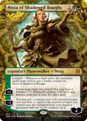 Nissa of Shadowed Boughs - Foil - Borderless