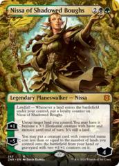 Nissa of Shadowed Boughs (Borderless) - Foil