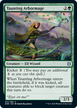 Taunting Arbormage - Foil