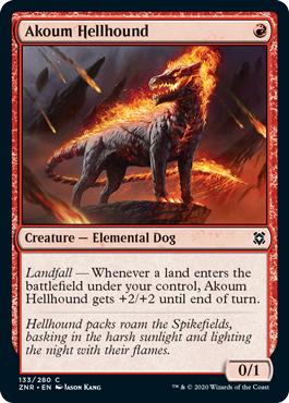Akoum Hellhound - Foil