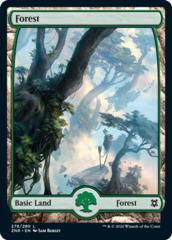 Forest (278) - Foil (Zendikar Rising)