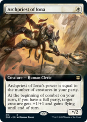 Archpriest of Iona - Foil - Extended Art